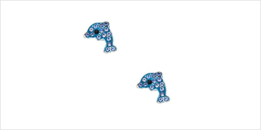 Go to Product: Silver Dolphin Magnetic Stud Earrings - Blue from Claires