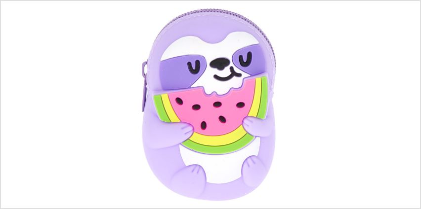 Go to Product: Sophie the Sloth Jelly Coin Purse from Claires