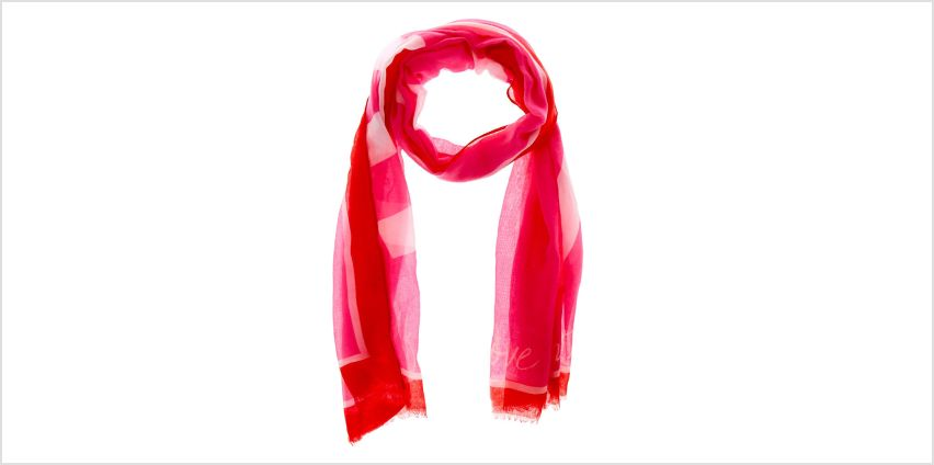 Go to Product: Love One Another Fashion Scarf - Pink from Claires