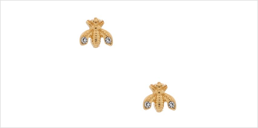 Go to Product: 18kt Gold Plated Queen Bee Stud Earrings from Claires