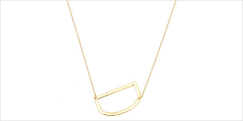 Go to Product: Oversized Initial Pendant Necklace - D from Claires