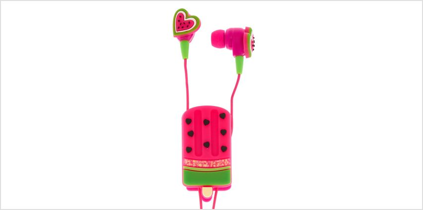 Go to Product: Watermelon Popsicle Earbuds & Winder from Claires