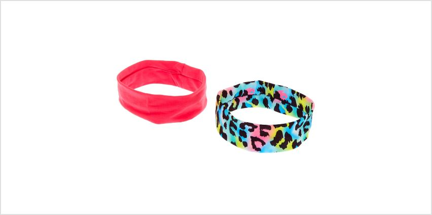 Go to Product: Rainbow Leopard Headwraps - 2 Pack from Claires