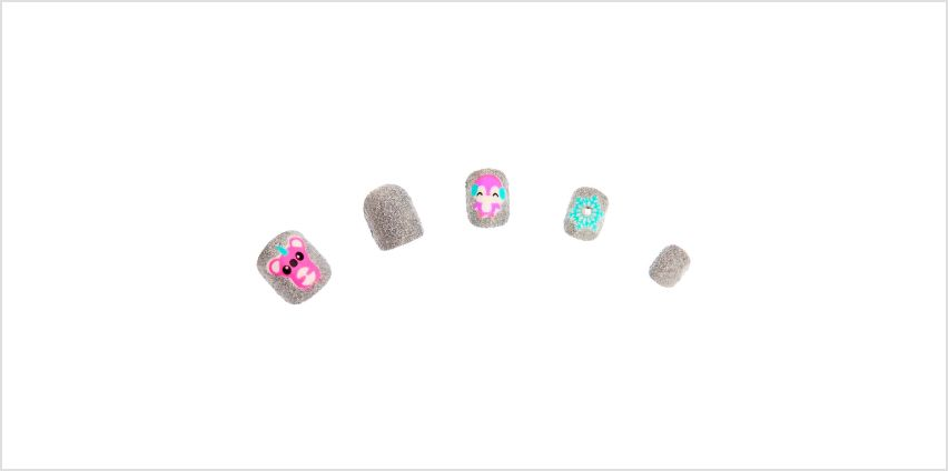 Go to Product: Winter Critters Square Press On Faux Nail Set - 24 Pack from Claires