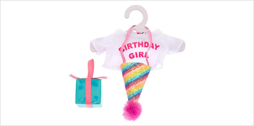 Go to Product: Claire On A Chair Birthday Dress Up Set from Claires