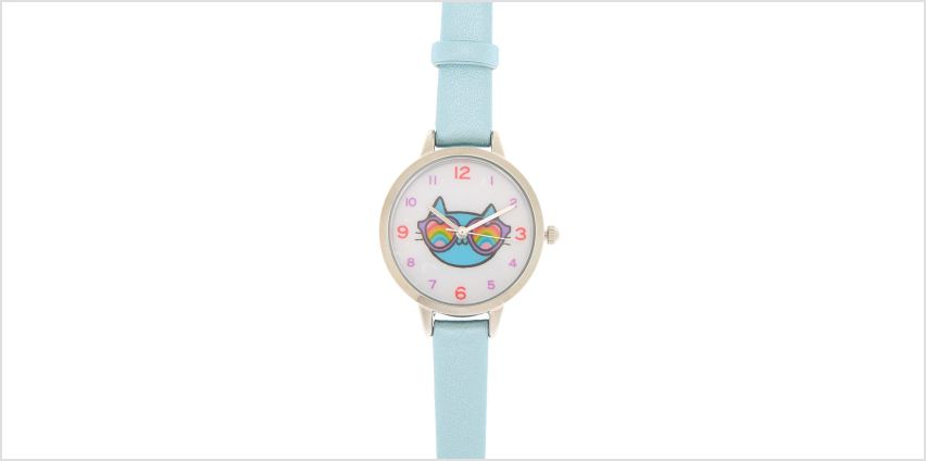 Go to Product: Cam the Cat Classic Watch - Blue from Claires
