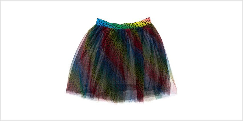 Go to Product: Rainbow Leopard Print Tutu from Claires