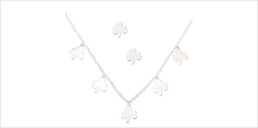 Go to Product: Silver Shamrock Jewellery Set - 2 Pack from Claires