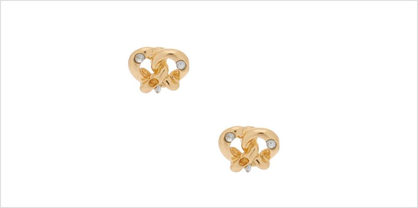 Go to Product: Gold Pretzel Stud Earrings from Claires