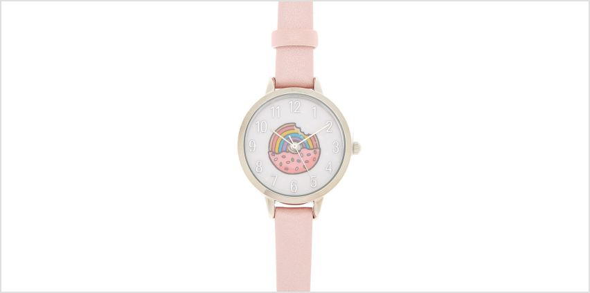 Go to Product: Sprinkle Donut Classic Watch - Pink from Claires
