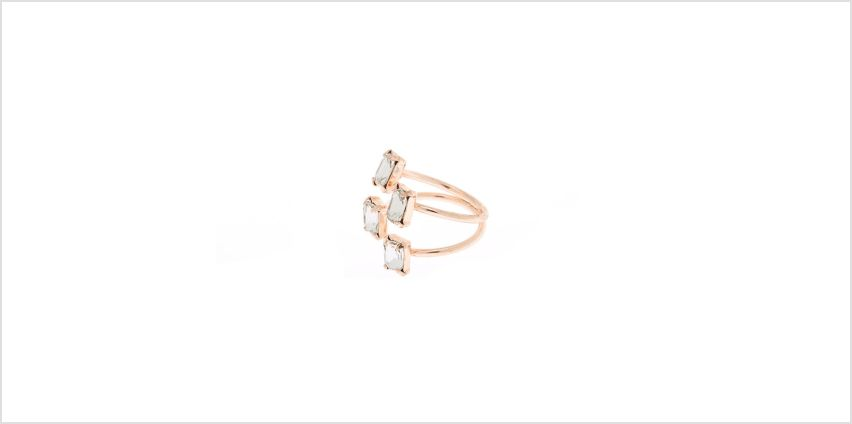 Go to Product: Rose Gold Embellished Cuff Ring from Claires