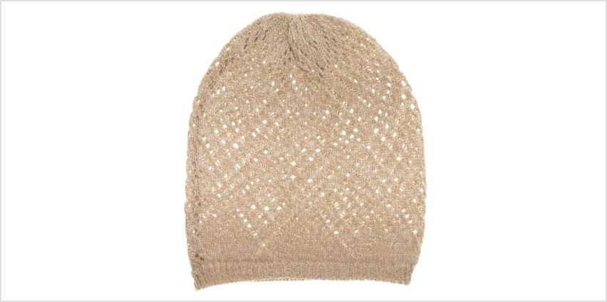 Go to Product: Knit Beanie - Oatmeal from Claires