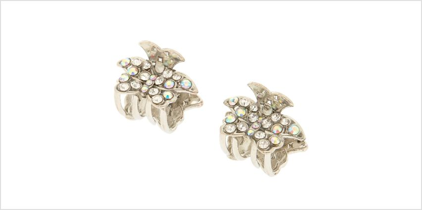 Go to Product: Silver Crystal Butterfly Clips from Claires