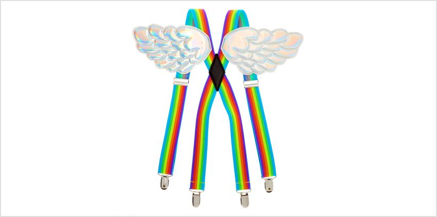 Go to Product: Rainbow Wing Braces from Claires