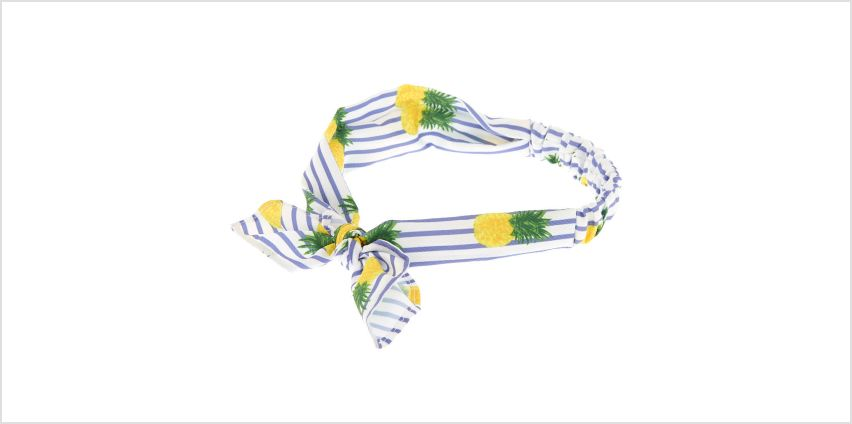 Go to Product: Pineapple Striped Headwrap - Yellow from Claires