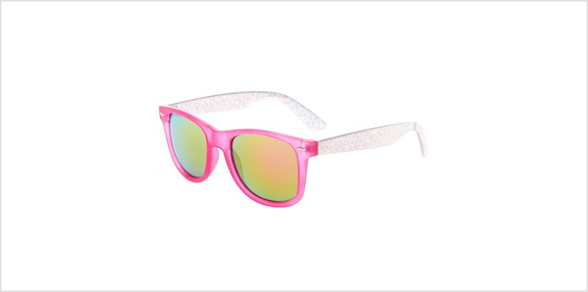 Go to Product: Holographic Retro Sunglasses - Pink from Claires