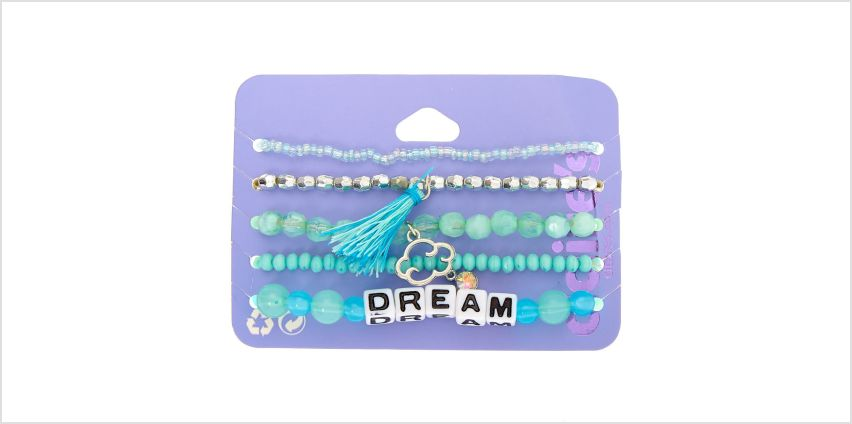 Go to Product: Dream Beaded Stretch Bracelets - Mint, 5 Pack from Claires
