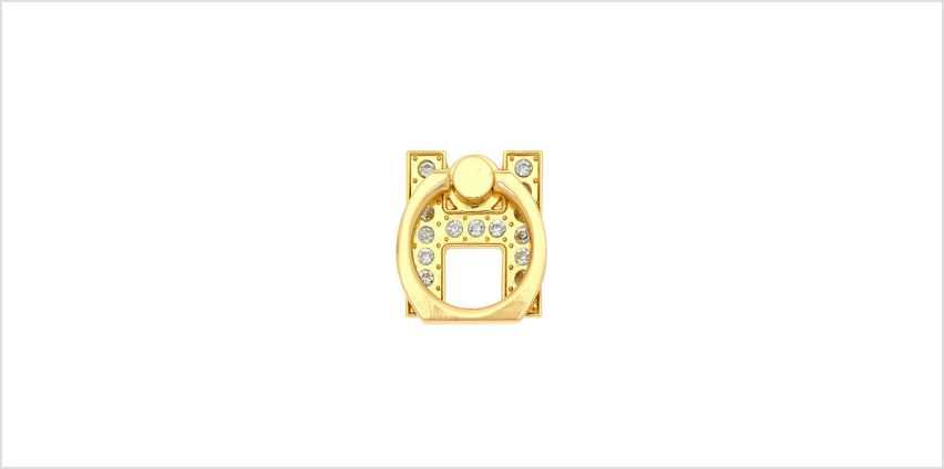 Go to Product: Gold Initial Ring Stand - H from Claires