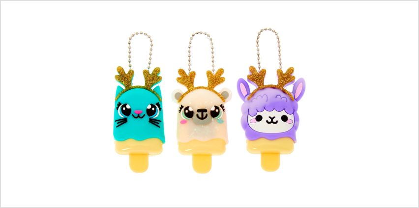 Go to Product: Pucker Pops Reindeer Critters Lip Gloss Set - 3 Pack from Claires