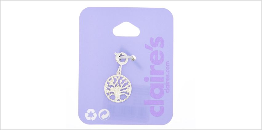 Go to Product: Silver Tree Bracelet Charm from Claires
