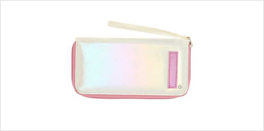 Go to Product: Pearlescent Initial Wristlet - I from Claires