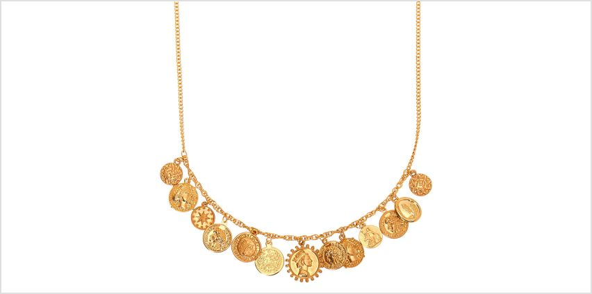 Go to Product: Gold Coin Statement Necklace from Claires