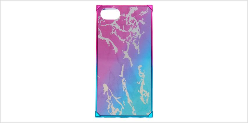 Go to Product: Rainbow Marble Square Phone Case - Fits iPhone 6/7/8 from Claires