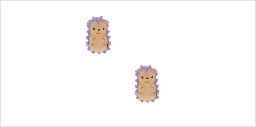 Go to Product: Hedgehog Stud Earrings - Purple from Claires