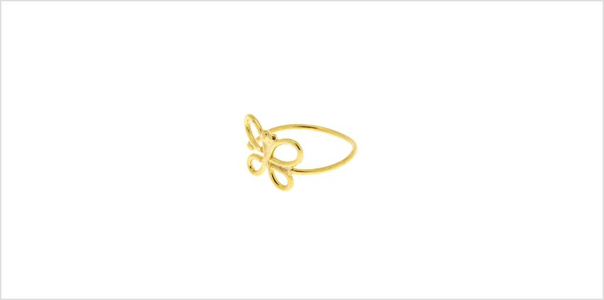 Go to Product: Sterling Silver Butterfly Gold Faux Cartilage Earring from Claires