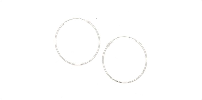 Go to Product: Sterling Silver 30M Infinity Hoop Earrings from Claires