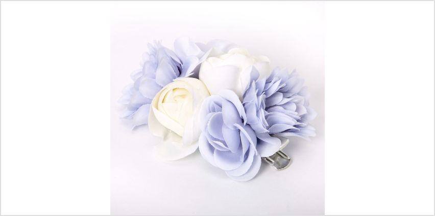 Go to Product: Bouquet Of Flowers Hair Clip - Blue from Claires