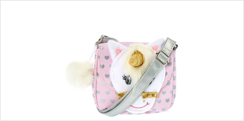 Go to Product: Claire's Club Ariella the Unicorn Crossbody Bag from Claires