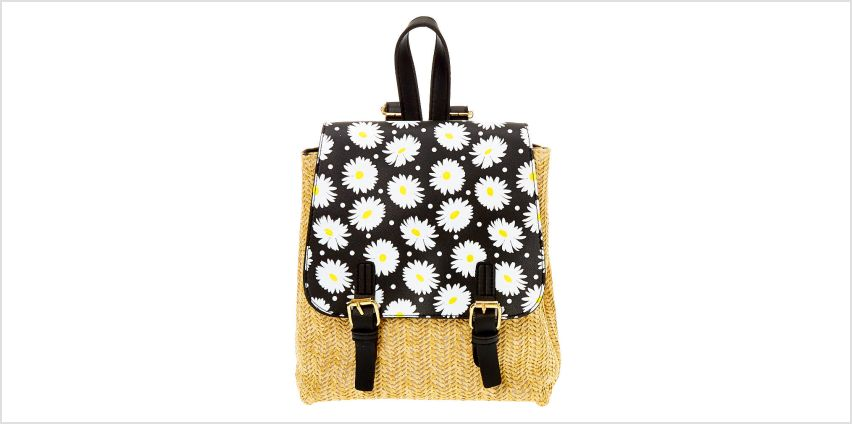 Go to Product: Daisy Straw Small Backpack from Claires
