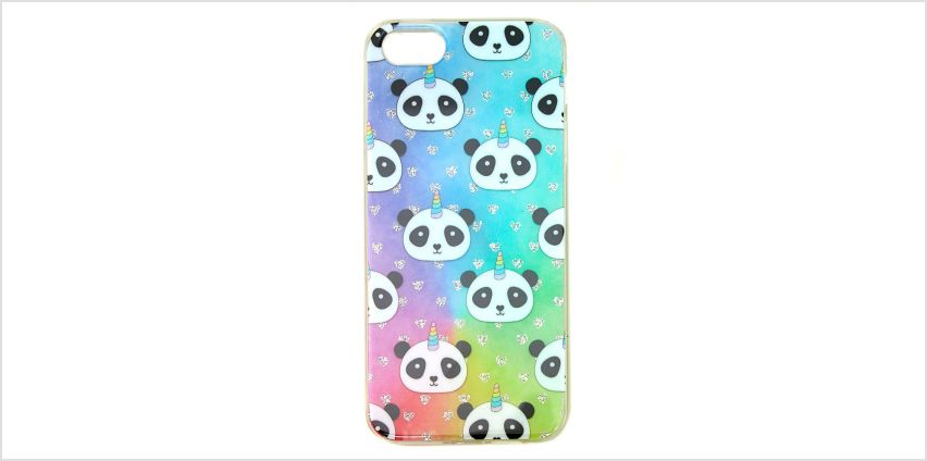 Go to Product: Rainbow Panda Unicorn Phone Case - Fits iPhone 5/5S/SE from Claires
