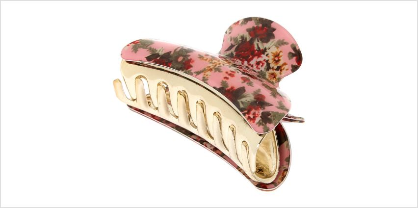 Go to Product: Antique Floral Hair Claw - Pink from Claires