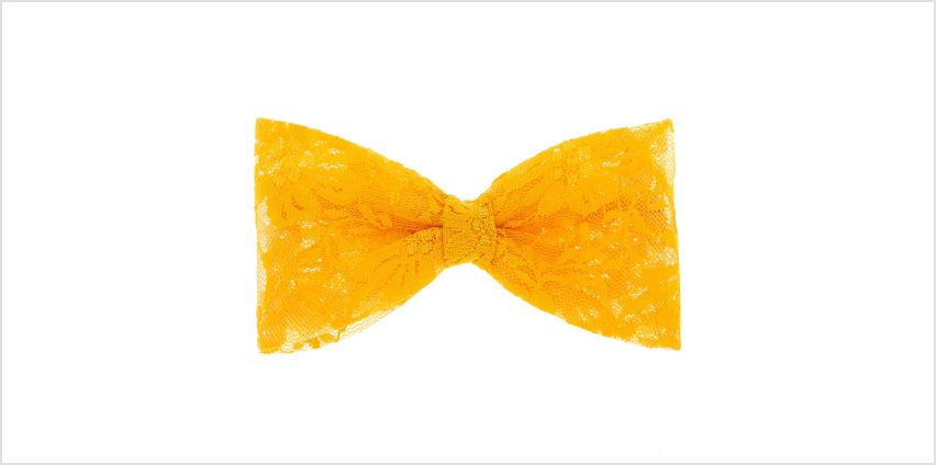Go to Product: Lace Hair Bow - Orange from Claires