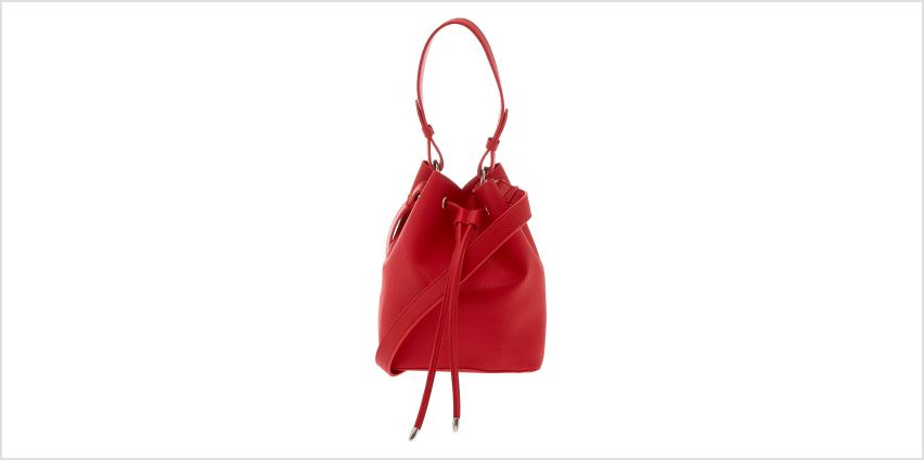 Go to Product: Bucket Crossbody Bag - Red from Claires