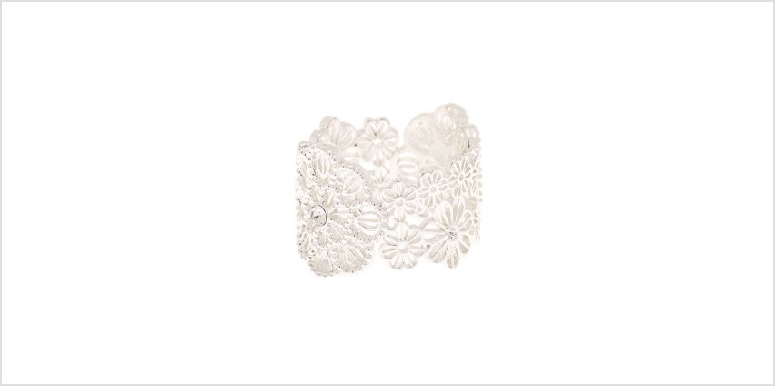 Go to Product: Silver Filigree Flower Ring from Claires