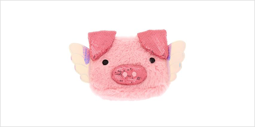 Go to Product: Poppy the Pig Soft Makeup Bag - Pink from Claires