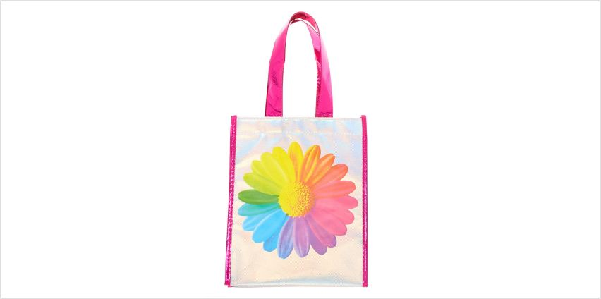 Go to Product: Rainbow Daisy Reusable Tote Bag from Claires