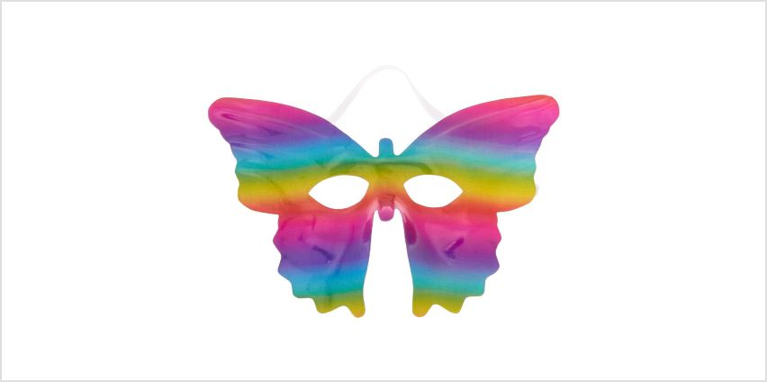 Go to Product: Rainbow Sparkle Butterfly Mask from Claires