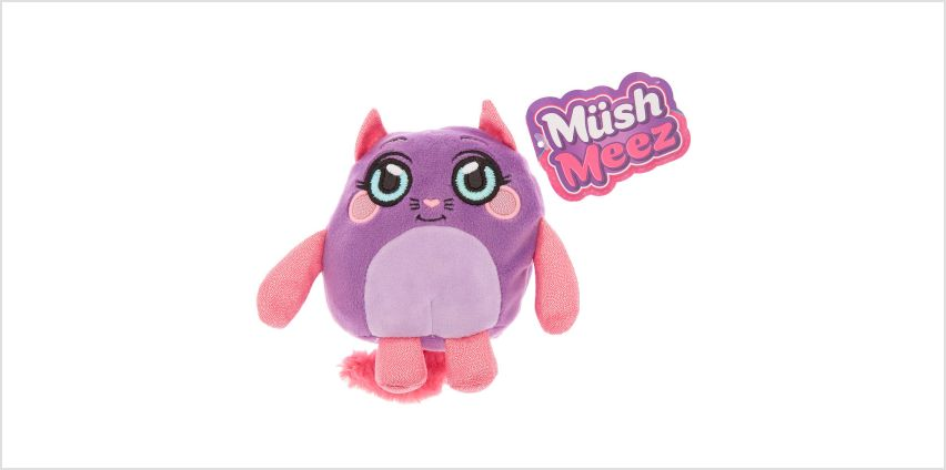 Go to Product: MushMeez™ Candice the Cat Soft Toy from Claires