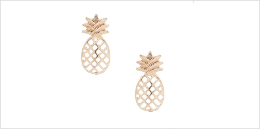 Go to Product: Rose Gold Pineapple Stud Earrings from Claires