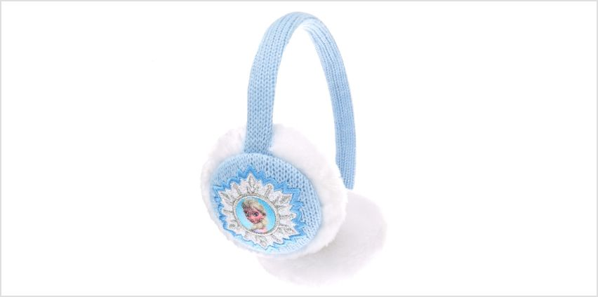 Disney® Frozen Ear Muffs - Pale Blue from Claires