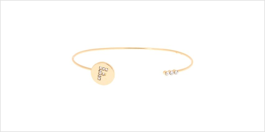 Go to Product: Gold Initial Cuff Bracelet - F from Claires