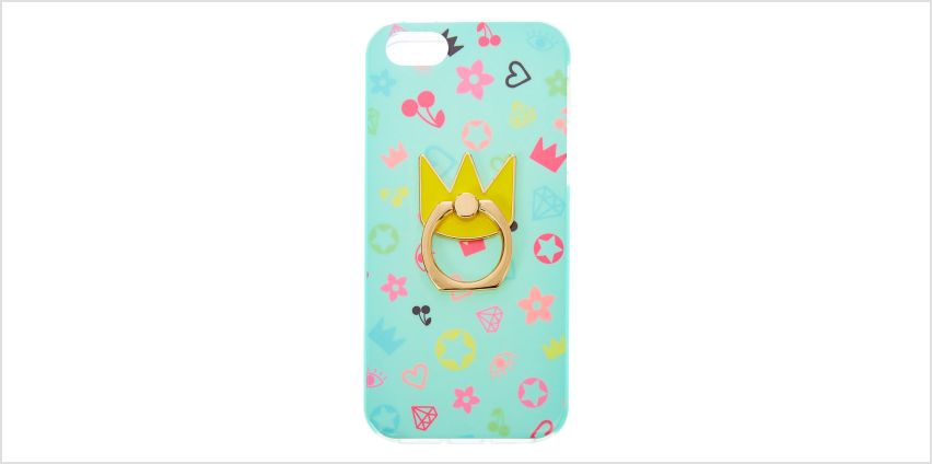Go to Product: Royalty Protective Ring Holder Phone Case - Fits iPhone 5/5S from Claires