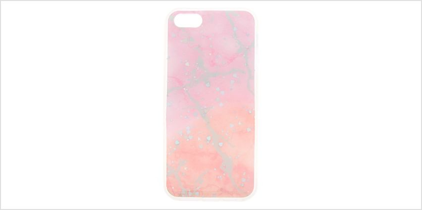 Go to Product: Holographic Marble Phone Case - Fits iPhone 5/5S/SE from Claires