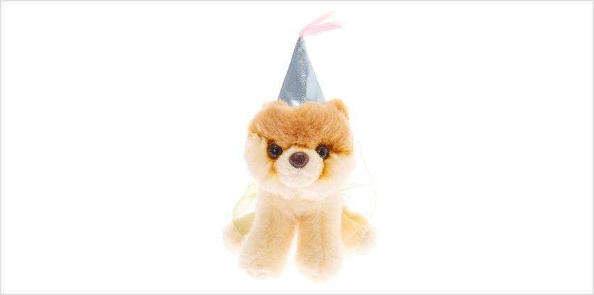 Go to Product: Boo The World's Cutest Dog™ Small Princess Soft Toy - Cream from Claires