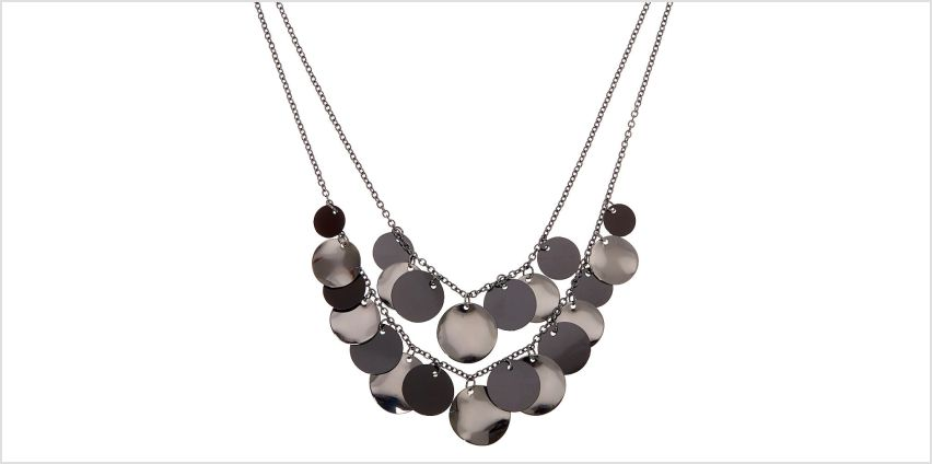 Go to Product: Shaky Disc Multi Strand Necklace - Black from Claires