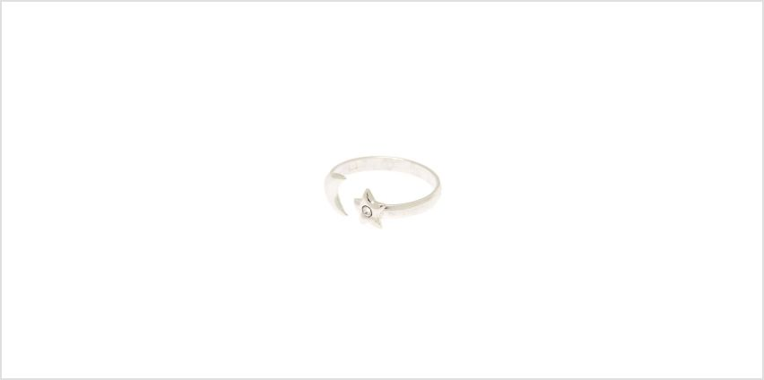Go to Product: Sterling Silver Open Moon & Star Toe Ring from Claires
